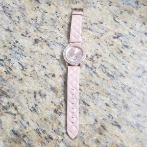 Light Pink Bebe Wristwatch